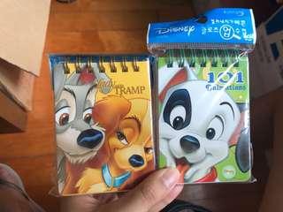 迪士尼卡通小筆記簿