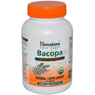 Himalaya Herbal Bacopa 60 Caplets