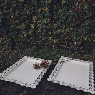 White Trays [Rental]