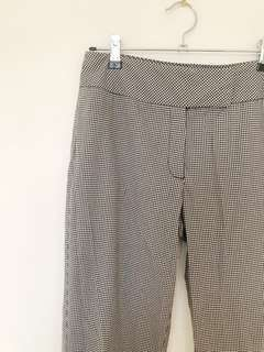 ESPRIT High Waisted Checked Pants