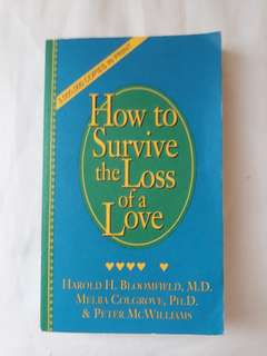 How to survive for a loss of a love