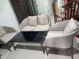 Sala set with center table (High Quality)