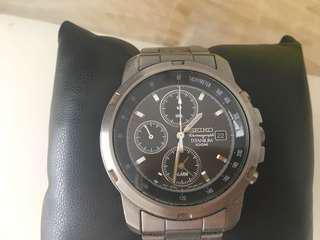 Seiko Titanium Watch
