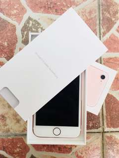REPRICED!!! iPhone 7, Rosegold, 128gb, FU