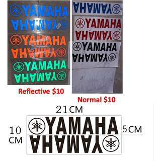 yamaha sticker decal