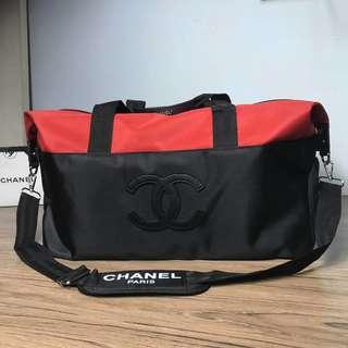 Chanel 旅行袋 奶粉袋 背囊背包化妝櫃贈品