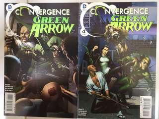 DC COMICS CONVERGENCE GREEN ARROW #1 & 2 SET