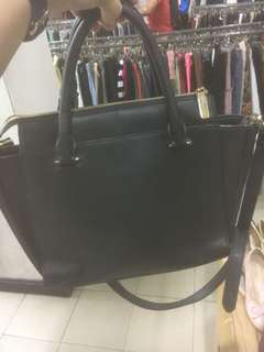 Authentic Charles and Keith 2 way bag