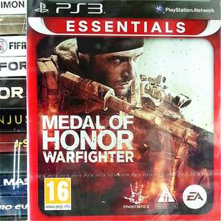 [NEW NOT USED] PS3 Medal of Honor: Warfighter Sony PlayStation EA Shooting Games
