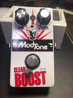 ModTone Clean Boost Pedal