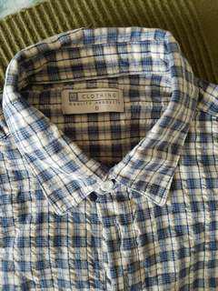 Long sleeved and short sleeve shirts