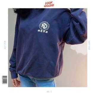 Navy sweater Unisex