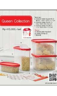 Tupperware queen collection