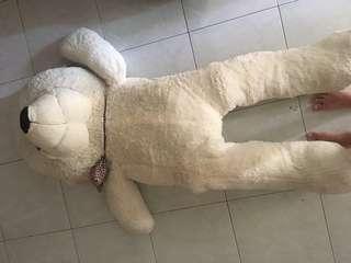 1.6m big white bear