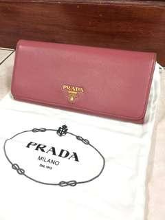 Authentic Prada Wallet