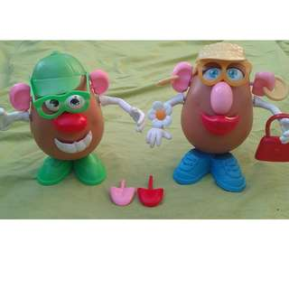 Mr and Mrs Potato Head