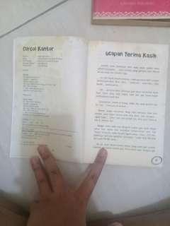 Buku Curcol kantor (asal usil anak kantoran) penulis anjar oktaviani