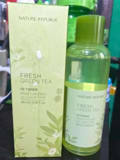 fresh green tea toner
