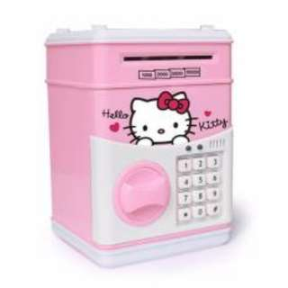 Cartoon Music Kids hello kitty Bank ATM Machine Tabung Password Gift Pack