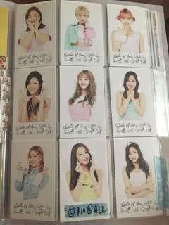 Twice 飯卡(10張)