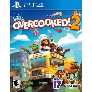 PS4 Overcooked 2 Preorder