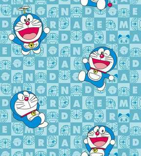 Wallpaper Sticker Doraemon 10 meter