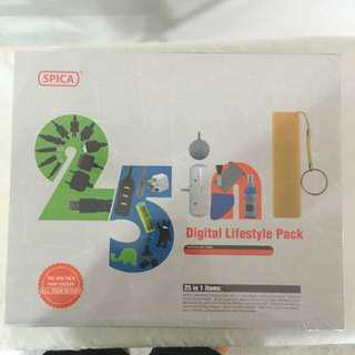 Spica 25 In 1 Digital Lifestyle pack