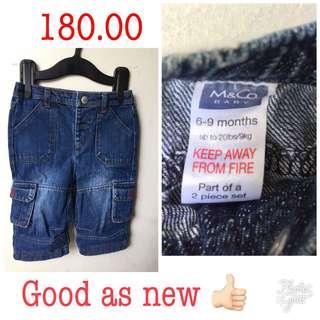 M&co baby pants