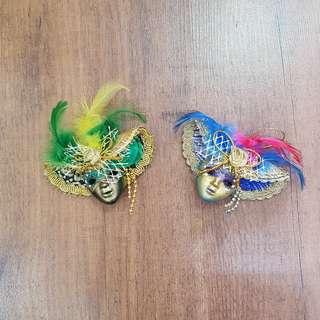🚚 Masquerade Refrigerator/ Fridge Magnet from Venice, Italy