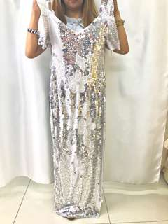 Filipiniana filipiñana Sales silver grey gray gown