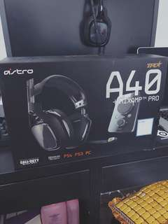 Astro A40 TR + Mixamp Pro (PS4 Black of Duty)