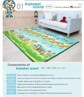 Free delivery Poreading Music play mat