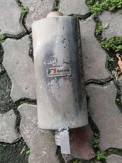 F1 Racing Midbox Exhaust Muffler