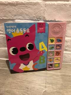 🦊韓國PinkFong發聲音樂書(英文)🎶📙(現貨)