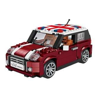 LOZ MINI 1111 CAR MODEL