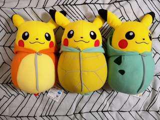 [AUTHENTIC] Banpresto Pikachu Nebukuro Collection Kanto Ver.