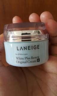 Laneige white plus reniew original cream 20ml