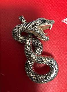 Thomas Sabo Silver snake charm🐍 全新蛇型銀鏈咀連頸鏈