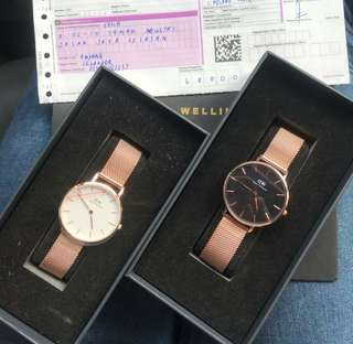100% Original Daniel Wellington
