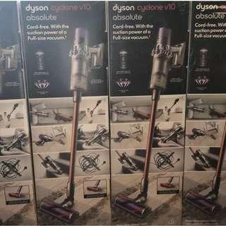 全新Dyson V10 Absolute 吸塵機現貨