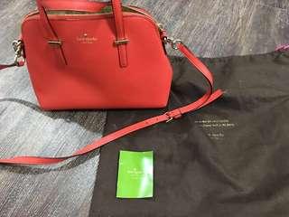 Kate Spade Red Sling Bag Authentic Orig