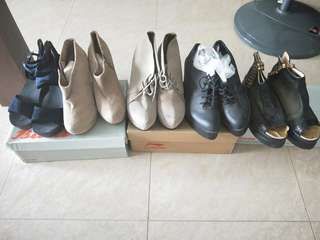 🚚 CLEARING Boots/Heels NEW/WORN ONCE