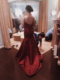 FOR RENT: Red Evening Gown for Debut / Formal Wear