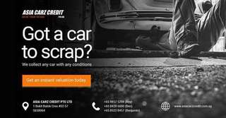 Scrap your car ar your doorstep!!