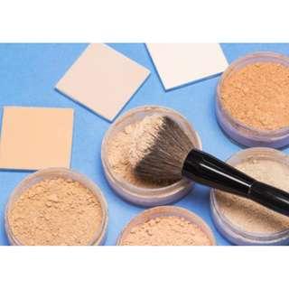 🚚 Halal Cosmetics!! Vegan Organic Loose makeup Powder