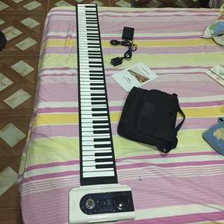 Roll-up Piano 88 keys (iWord 88) - Portable Piano
