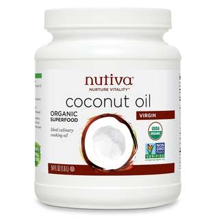 ($300 包速遞費) Nutiva Virgin Coconut Oil 有機椰青油 54oz/1.6L
