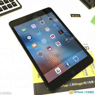 iPad mini 1 16gb black
