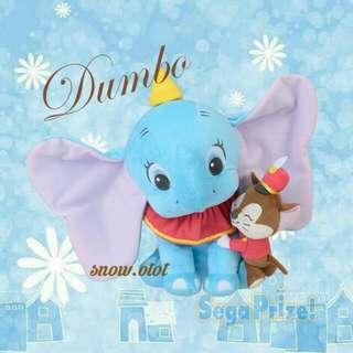 日版Dumbo與Timothy公仔☆BIG!!日本直送 Disney/迪士尼/小飛象/elephant/plush/soft toy/kids doll