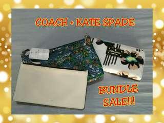 BUNDLE SALE!!! (Pouch + Wallet)